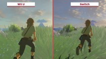 The Legend of Zelda: Breath of the Wild - Сравнение Wii U (E3) vs. Switch (IGN)