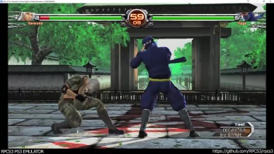 Эмулятор RPCS3 PS3 - Virtua Fighter 5: Final Showdown