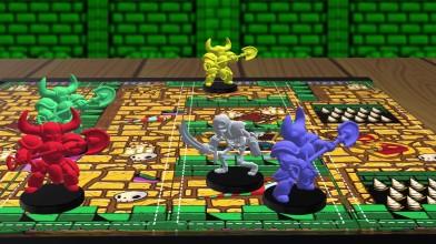 Встречайте настольную игру Shovel Knight: Dungeon Duels