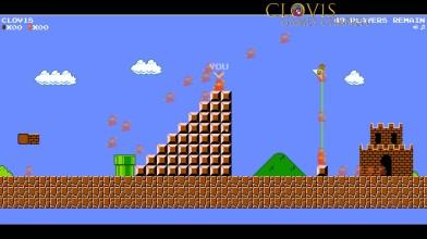 Super Mario Bros - Королевская битва на 100 человек! Берем ТОП 1