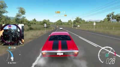 Forza Horizon 3 GoPro Chevelle SS Blower 1500hp V8 vs V12 Cruise