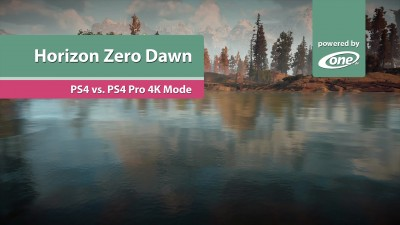 "Horizon: Zero Dawn ""Сравнение версий PS4 Pro vs PS4"" (Candyland)"