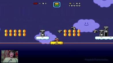 Super Mario Bros. X (v. 1.3) - The New Adventure by Alex v.2.0 - 7 ур. - Адовые небеса (на русском)