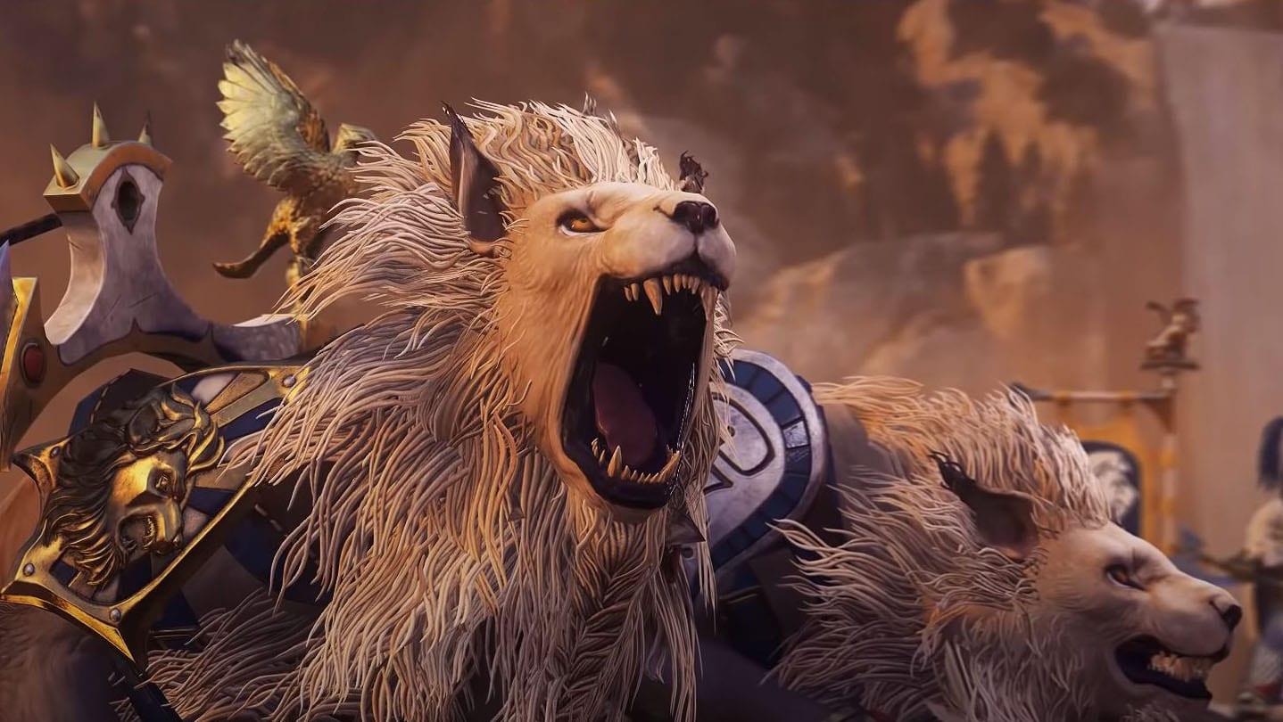 Новый трейлер DLC The Warden & The Paunch для Total War: Warhammer II демонстрирует Колесницы Белого Льва
