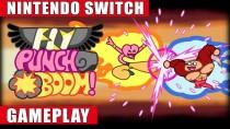 Запись игрового процесса анимационного экшен-битэмапа Fly Punch Boom!