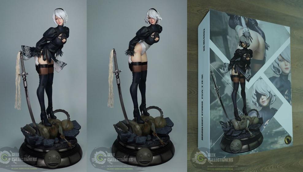 Новые фотографии фигурки YoRHa No.2 Type от Moonlight Studio