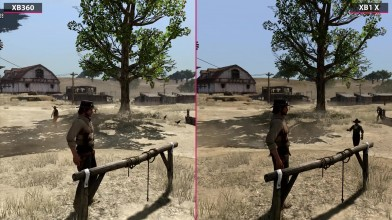 Red Dead Redemption - Сравнение Xbox 360 vs. Xbox One X (Candyland)