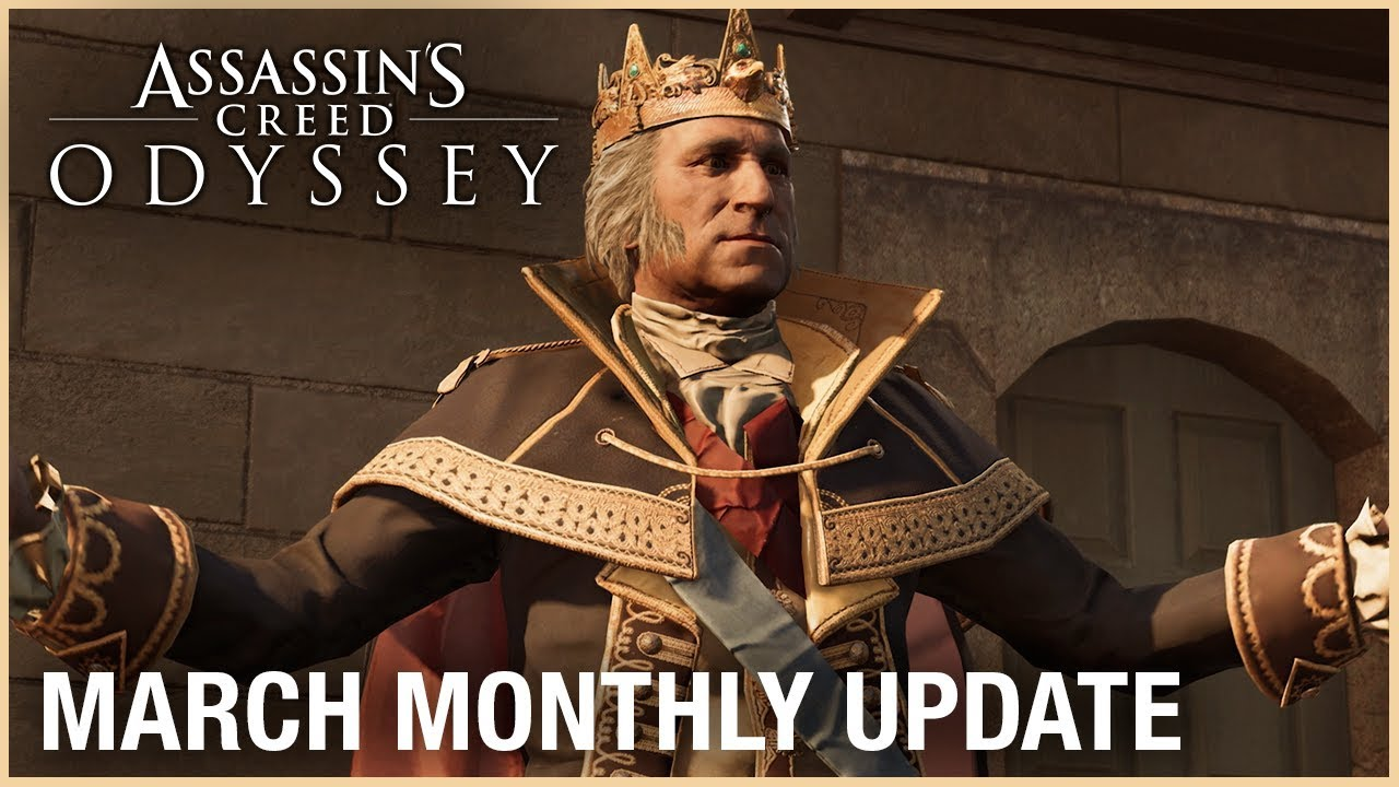 Мартовский контент Assassin's Creed: Odyssey