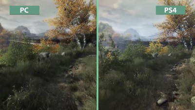 "The Vanishing of Ethan Carter ""Новое детальное сравнение на PC vs. PS4 – Unreal Engine 3 vs. 4"""