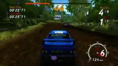 """SEGA Rally Online Arcade """"Гонки в тропиках"""""""