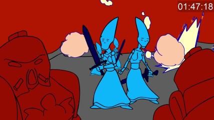 WARHAMMER 00 000- dawn of war за 0 минуты (анимация)