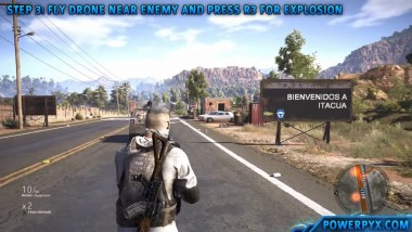 Ghost Recon Wildlands - Получение трофея Death from Above