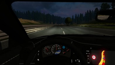 ETS 2 Nissan GTR R35 (boosted car engine)