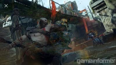 Новые скриншоты и информация God of War