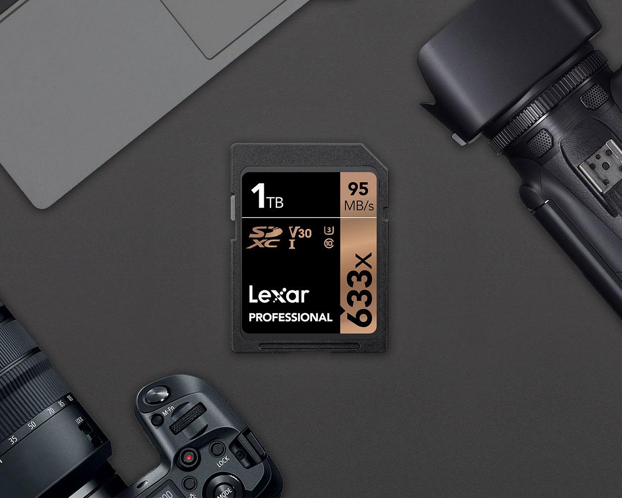 Представлена первая серийная SD-карта на 1 терабайт