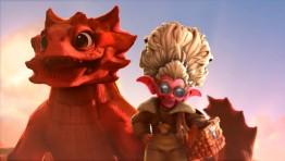 """Valve обвиняют в плагиате: маунт нового героя Snapfire похож на Беззубика из """"Как приручить дракона"""""""