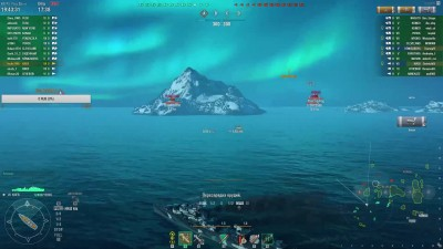 "World of Warships ""Киев эсминец СССР 7 лвл - 109к дамага (соло стрим на твиче) WoWs Kiev от Hedin"""