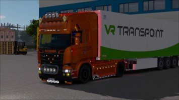 "ETS2 ""Обзор Scania R & Streamline Modifications V2.0 + ALL DLC v1.25"""