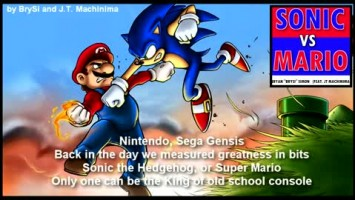 SONIC VS MARIO - Epic Rap Battle