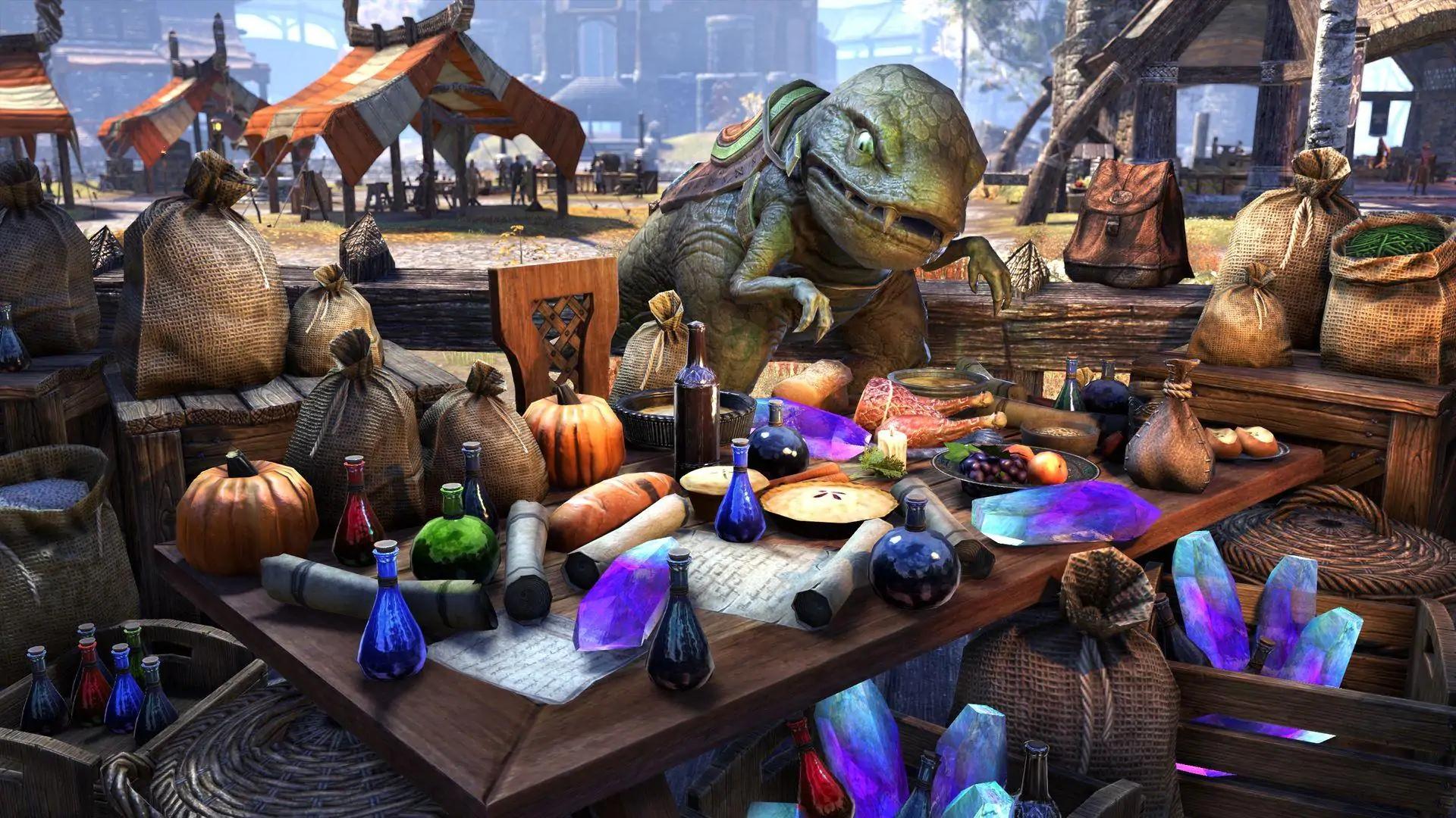 """The Elder Scrolls Online: Скидки на главу """"Греймур"""" и комплекты в кронном магазине"""