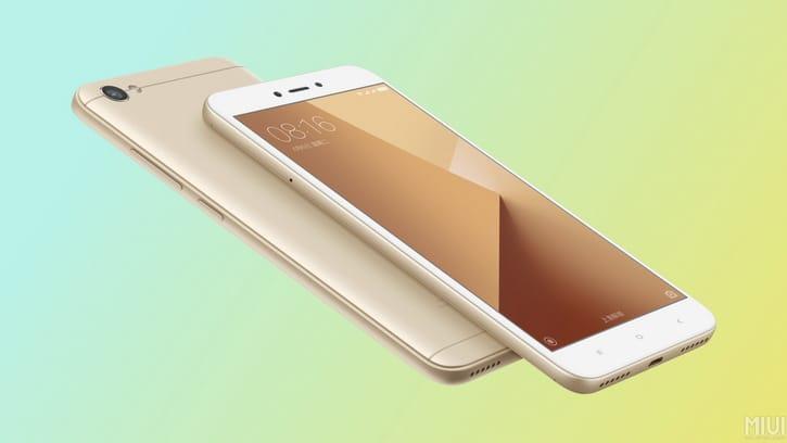 Xiaomi Redmi Note 5A будет первым телефоном совспышкой нафронтальной камере