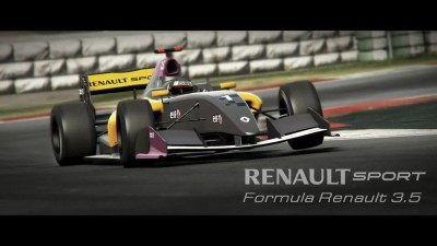 "Project CARS ""Трейлер Renault Sport Car Pack"""
