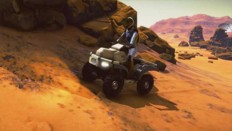 Анонсирующий трейлер Occupy Mars: The Game