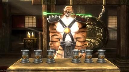 "Mortal Kombat (2011) ""Все убийства показаны на Test Your Sight Горо,Кинтаро и Шао Канн"""