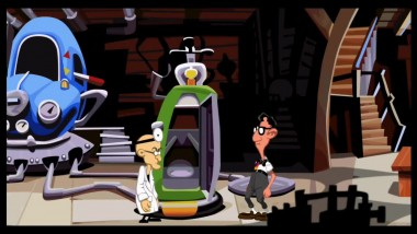 Day of the Tentacle Remastered - PlayStation Experience 2015 геймплей