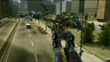 Transformers: The Game - Optimus vs Megatron