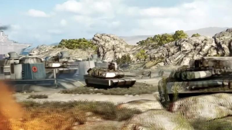 Battlefield 3 - Montage