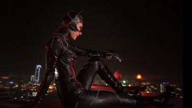 Женщина кошка- косплей