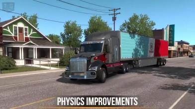Демонстрация новых функций в American Truck Simulator (патч 1.33)