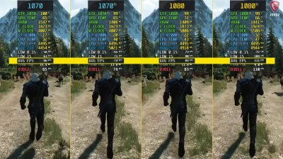 Сравнение - The Witcher 3 GTX 1070 vs. GTX 1070 Ti vs. GTX 1080 vs. GTX 1080 Ti
