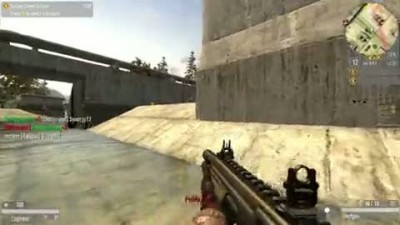 Quake Wars Multiplayer Slaughter Gameplay