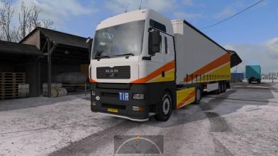Euro Truck Simulator 2 - Обзор MAN TGA