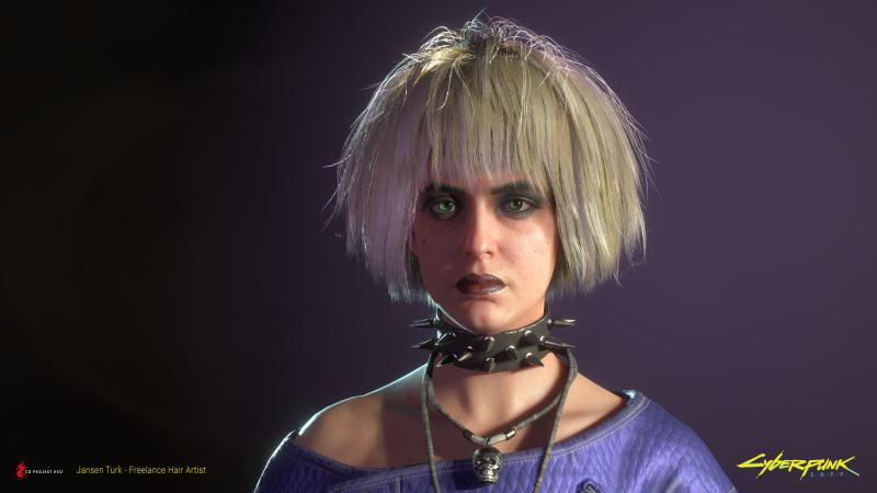 Новые арты и рендеры Cyberpunk 2077