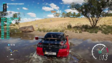 Forza Horizon 3 : FPS Test R9 280X FX 8350 [Майский Апдейт]