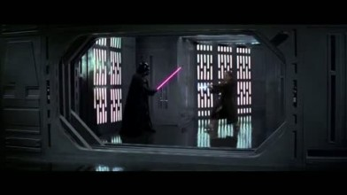 "Kinect: Star Wars ""дуэль с Дартом Вейдером"""