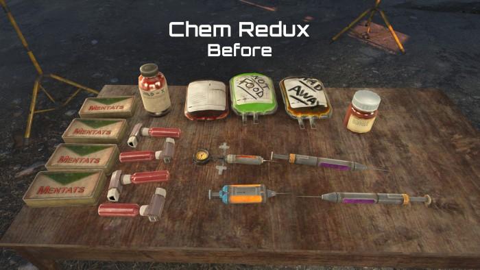 Химикаты раньше