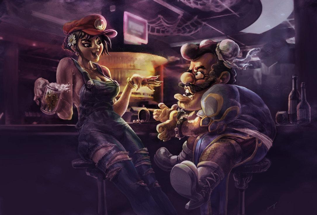Картинки в баре арт