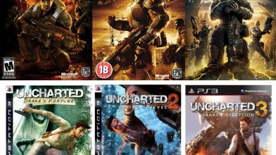 $o$nooley (часть 2): Gears of War & Uncharted