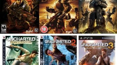 $o$nooley (часть 2): Gears of War & Uncharted