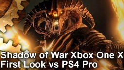 Middle-earth: Shadow of War - анализ ранней версии для Xbox One X