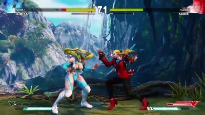 "Street Fighter 5 ""Геймплей за R. Mika"""