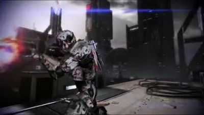 "Mass Effect 3  ""Earth Multiplayer DLC Trailer"""