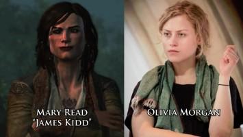 Актёры - актрисы озвучки Assassin's Creed 4: Black Flag.