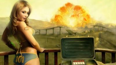 Fallout 3 тест APU