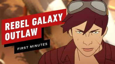 Первые 15 минут стильного космического приключения Rebel Galaxy Outlaw