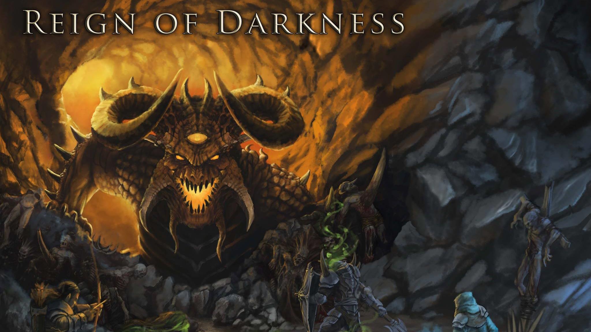"""Мрачная MMORPG """"Reign of Darkness"""" стала временно бесплатной"""